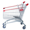 Metal Shopping Trolley with Wheels(160L)