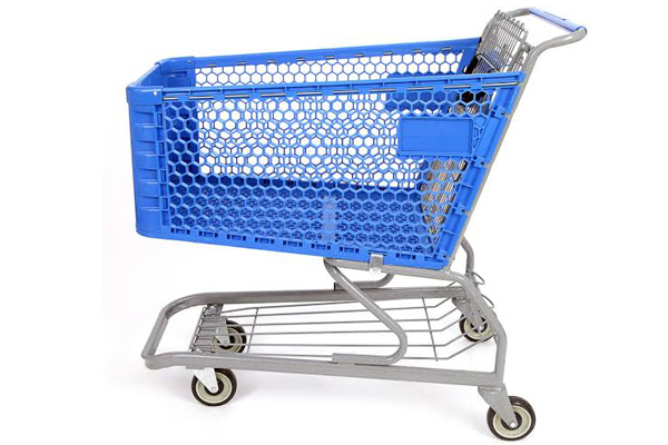 Plastic-Shopping-Cart