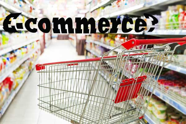 Whether the rise of e-commerce means the end of supermarket shopping carts?
