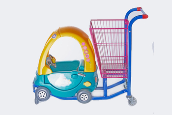 Small Suitable Shopping Carts for Children