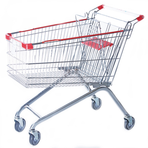 Wire Metal Shopping Carts (YRD-A125)