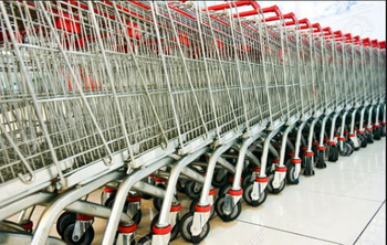 Are there any regulations on supermarket shopping carts?