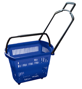 Collapsible Plastic Shopping Basket